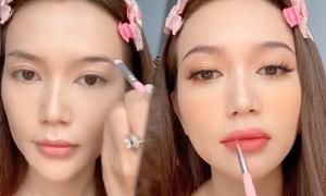 Sĩ Thanh makeup tone cam