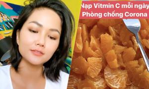 H'Hen Niê 'nạp' vitamin C mỗi ngày để phòng nCoV