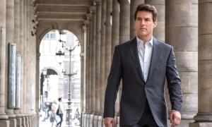 Tom Cruise sang Anh quay phim