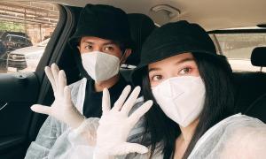 Ảnh sao 17/3: Sĩ Thanh - Huỳnh Phương hẹn hò mùa dịch