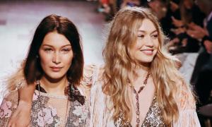 Những lần chị em Gigi Hadid song hành catwalk