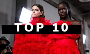 10 người mẫu catwalk tốt nhất ba năm qua