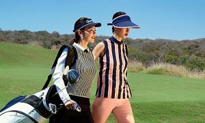 MC Hải Anh, Hà Kino gợi ý trang phục tập golf