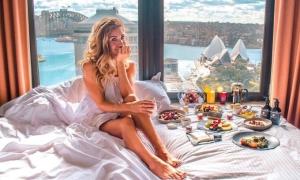 View đắt giá từ khách sạn cách ly Covid-19 ở Sydney