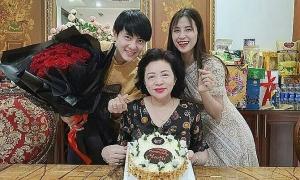 Ảnh sao 8/4: Đông Nhi mừng sinh nhật mẹ chồng