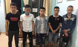 Nhóm thanh niên thuê nhà nghỉ sử dụng ma túy