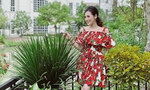 Vườn nhà muôn hoa đua nở của á hậu Tú Anh