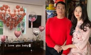 Chồng đại gia làm sinh nhật cho á hậu Thanh Tú