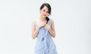 Người đẹp Việt diện trang phục Maybi dạo phố