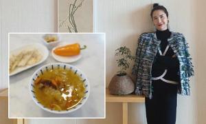 Vợ chủ tịch Taobao ăn chè dưỡng nhan, tập pilates