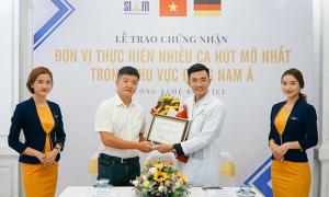 Siam Thailand thực hiện nhiều ca hút mỡ Body Jet nhất Đông Nam Á