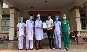 Bệnh nhân Covid-19 cuối cùng ở Hà Tĩnh xuất viện
