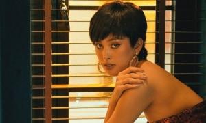 Hoa hậu Tiểu Vy thử tóc ngắn