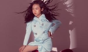 Mẫu nhí Khánh An khoe gu thời trang