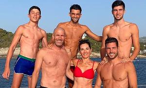 4 con trai của cựu danh thủ Zidane