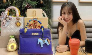 Loạt túi xa xỉ của con gái Minh 'Nhựa'