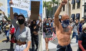 Sao Hollywood biểu tình đòi công lý cho người da đen