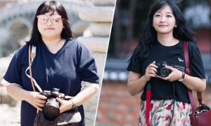 Thay cơm bằng khoai lang giúp gái Hàn giảm 49 kg