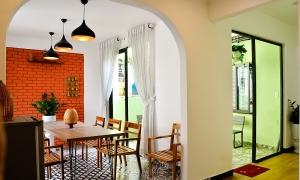 Homestay rộng 200 m2 theo phong cách Đông Dương