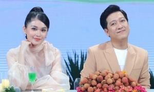 Á hậu Thùy Dung hồi hộp làm MC với Trường Giang