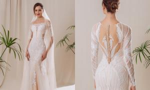 Váy cưới phong cách quý cô thành thị