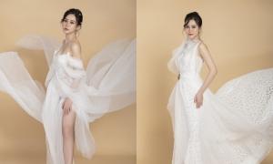 Váy cưới lấy cảm hứng từ dòng nước
