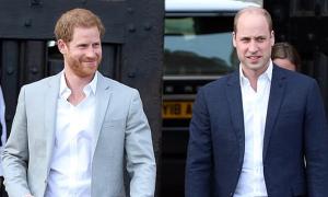 William 'trông chừng' Harry bằng cách gọi video thường xuyên