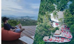 Văn Lâm xả hơi trong resort giữa rừng ở Thái Lan