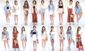36 set đồ hè từ 12 món trang phục