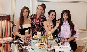 Hương Baby hội ngộ nhóm bạn thân hot girl