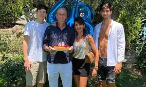 HLV Zidane nhớ con trong sinh nhật
