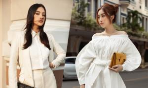 Hoa hậu Đỗ Mỹ Linh, Tiểu Vy 'đọ' street style