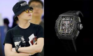 Cuộc đua đồng hồ hàng hiệu của sao Hàn