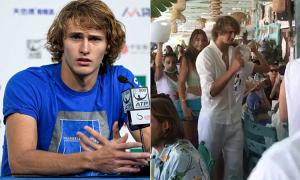 Sao quần vợt dự giải của Djokovic trốn cách ly để đi tiệc