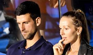 Vợ chồng Djokovic âm tính với Covid-19