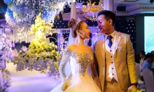 Tiệc cưới pha lê của cặp yêu sau 10 ngày