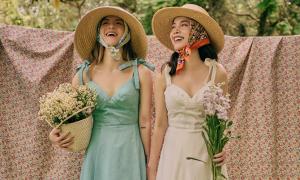 Yến Trang, Yến Nhi gợi ý trang phục dã ngoại
