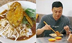 Quang Vinh gần 20 năm chỉ ăn bánh tằm cà ri ở một quán