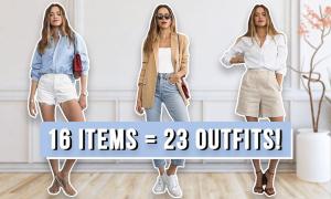 23 set đồ hiện đại từ 16 món trang phục