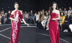 Áo dài cưới 'bắt trend' xuyên thấu