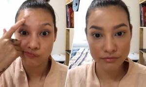 Lilly Nguyễn mách cách che mụn không làm lớp nền sần sùi