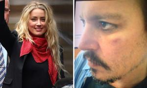 Vệ sĩ khẳng định Johnny Depp bị vợ tát nhiều lần