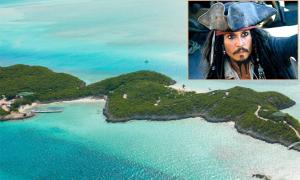 Hòn đảo riêng gắn nhiều vui buồn của Johnny Depp