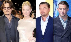 Johnny Depp nghi vợ ngoại tình với Leo và nhiều sao nam Hollywood
