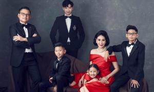 Hoa hậu Hà Kiều Anh kỷ niệm 13 năm cưới
