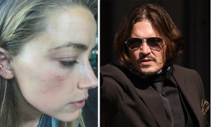 Amber Heard: 'Johnny Depp ném 30 chai lọ vào tôi như lựu đạn'