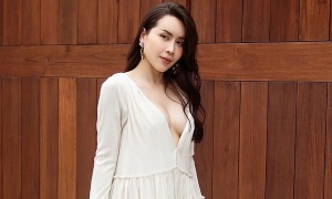 Ảnh sao 25/7: Lưu Hương Giang sexy