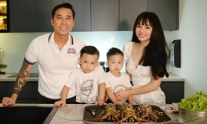 Cuộc sống vợ chồng Lê Hoàng ở căn nhà 1.000 m2