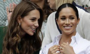Kate và William 'từng trải thảm đỏ chào đón Meghan'