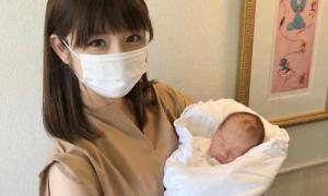 Chồng bỏ, mỹ nhân Nhật một mình 'vượt cạn'